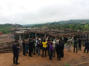 Officials reclaim Khao Kho forest from resort operators a