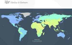 Henley & Partners Visa Restrictions Index 2016