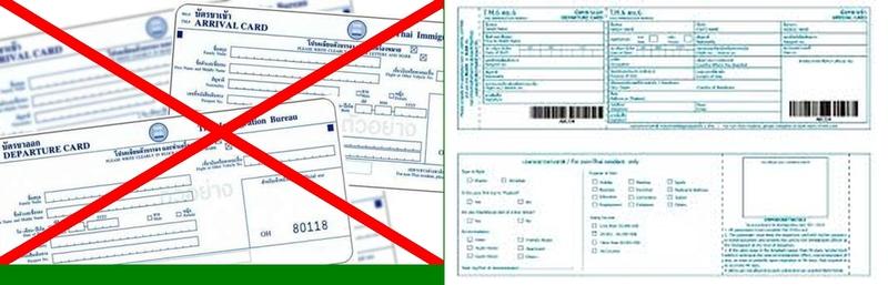 Ab dem 1. Oktober gibt es neue Einwanderungskarten TM. 6