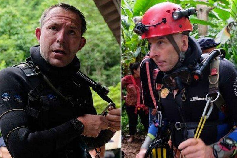 Die britischen Höhlentaucher haben noch vier weitere thailändische Retter aus der Tham Luang Höhle befreit