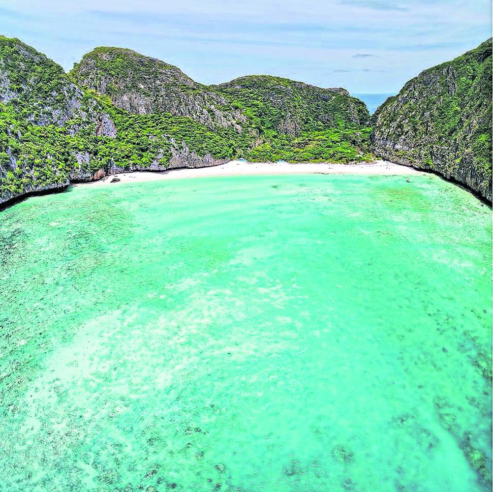 """Die berühmte Maya Bucht """"The Beach"""" bleibt für weitere zwei Jahre geschlossen"""